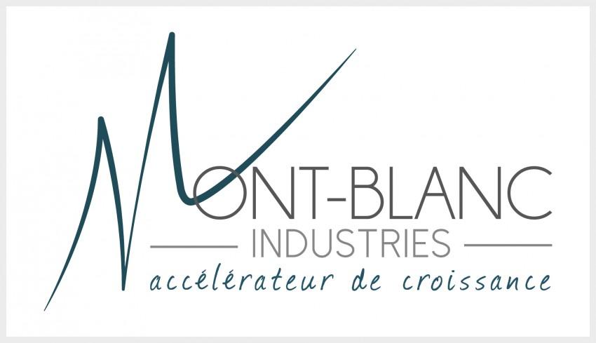 logo du Pôle Mont-Blanc Industrie accélérateur de croissance