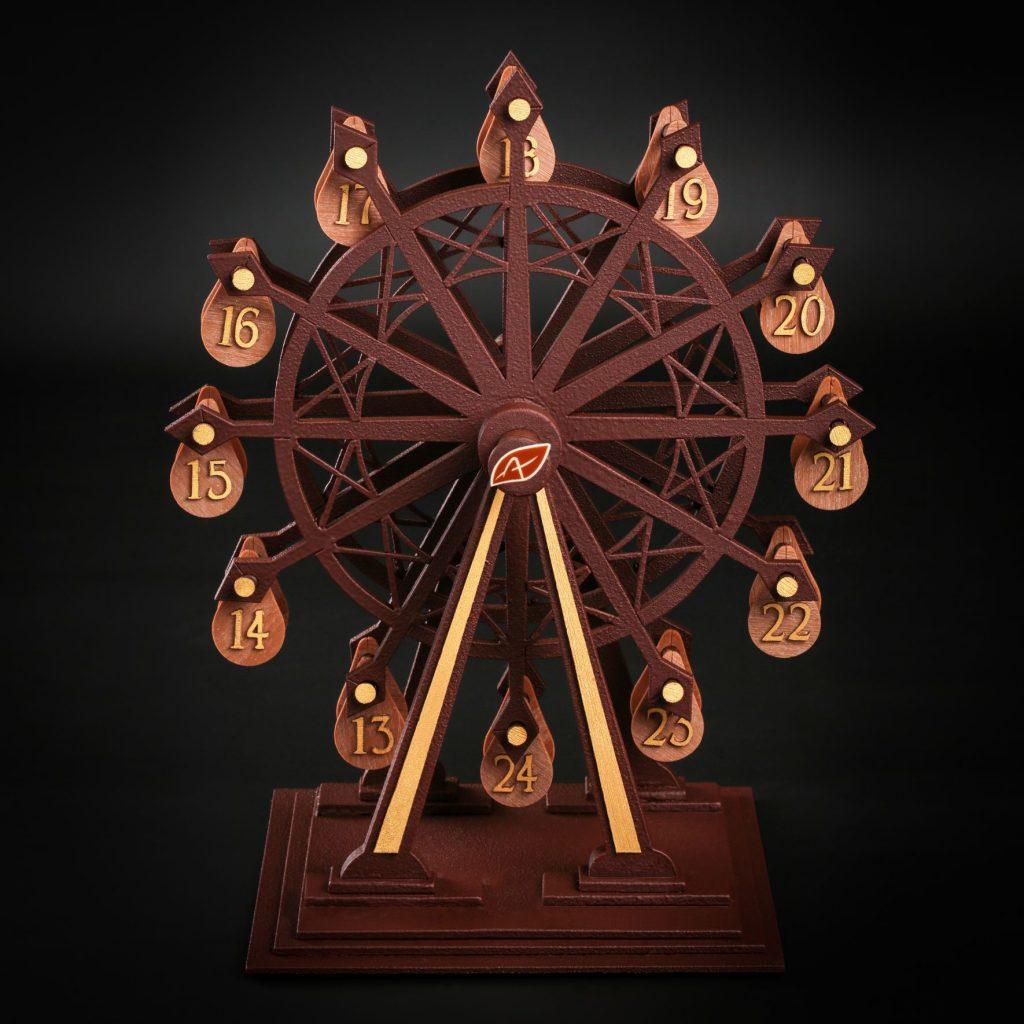 Patrick Agnellet présente un exceptionnel calendrier de l'Avent : La grande roue de l'Avent