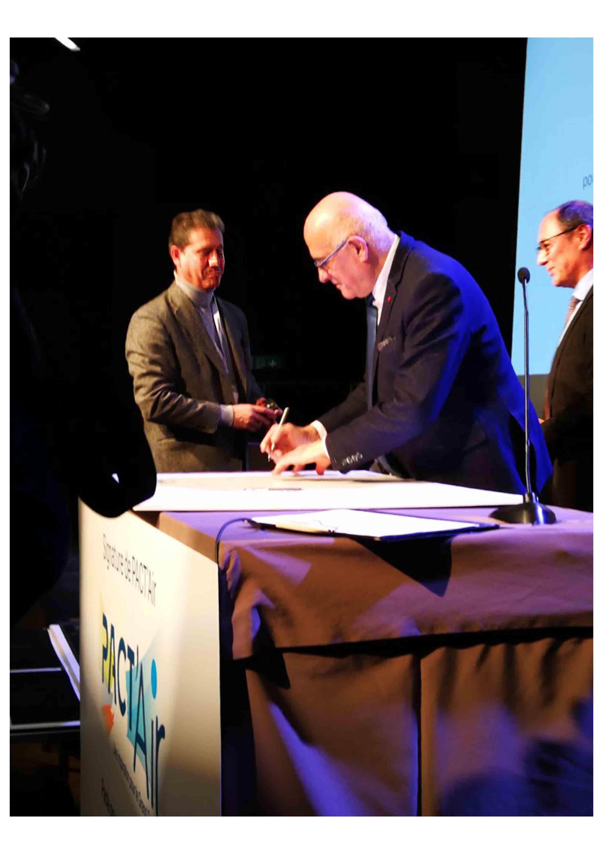 signature projet Pact'Air Grand Genève